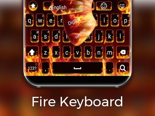 Fire Keyboard 1.0.19 screenshots 1