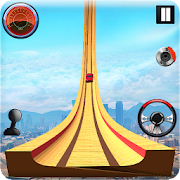 Grand Vertical Ramp Car Racing: Mega Ramp Stunts  Icon