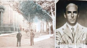 La Plaza de la Catedral en 1934 y una imagen de Leopoldo Torres Balbás.
