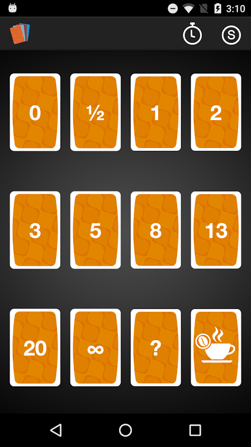 Scrum Time - Planning Poker- screenshot