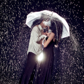 love in the rain by Uno Photoworks - Wedding Other