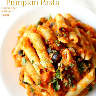 Creamy Autumn Pumpkin Pasta.