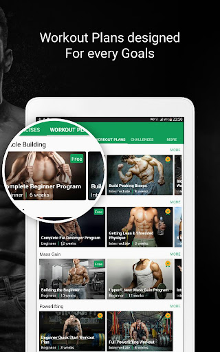 Fitvate - Home & Gym Workout Trainer Fitness Plans 6.8 screenshots 10
