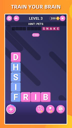 Recherche de mots bloqués-Jeu de puzzle classique APK MOD (Astuce) screenshots 3