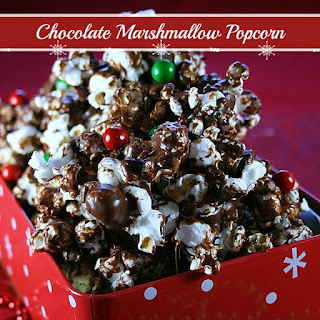 Chocolate Marshmallow Popcorn Recipes