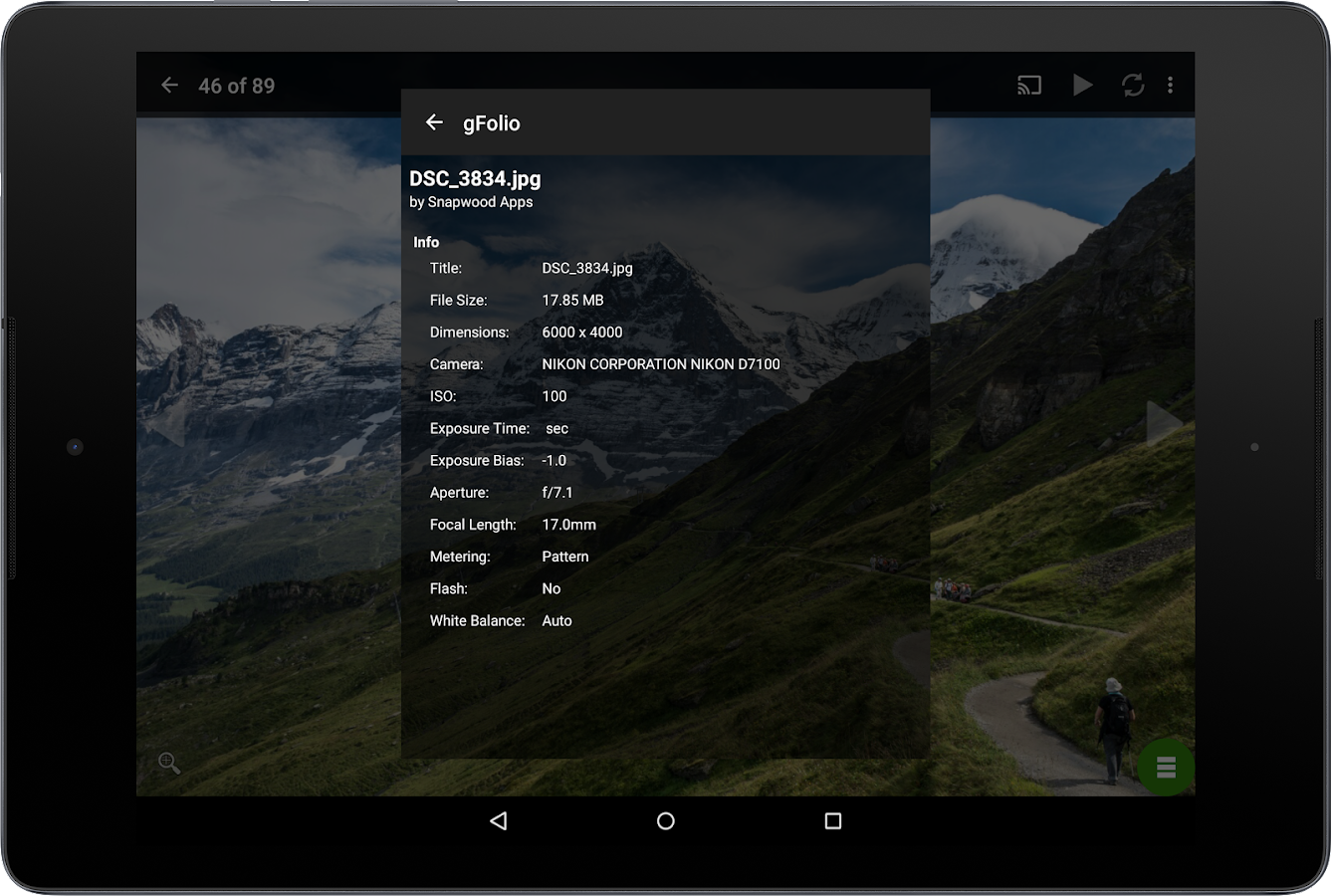 gFolio Photos for Google Drive- screenshot