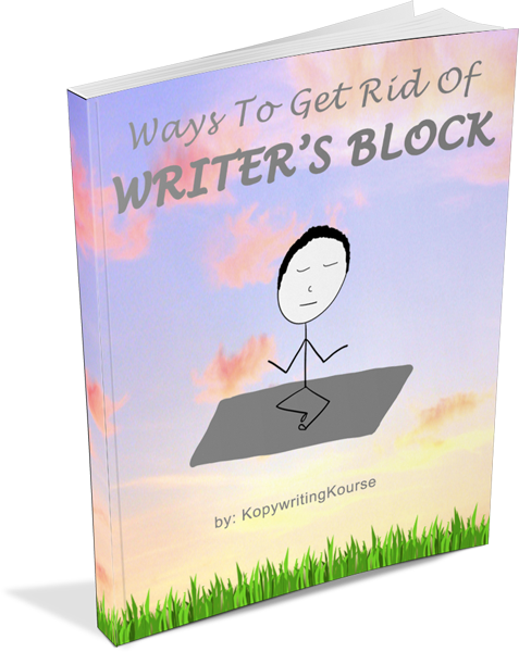 How do I get rid of writers block?