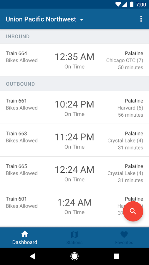 Ride Metra- screenshot