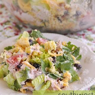 Southwest Cornbread Salad.