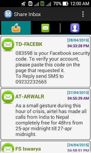 Super SMS Share Backup Tool