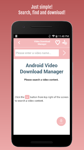 Video Download Manager 1.0.6 screenshots 1