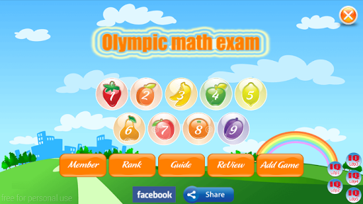 Olympic Math Practice