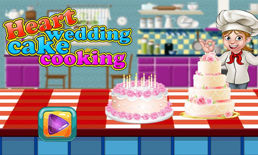 heart wedding cake cooking apk wedding cake cooking baking chef 15175