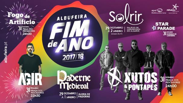 Réveillon 2017-2018 em Albufeira