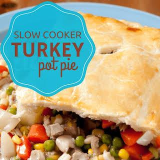 Slow Cooker Turkey Pot Pie.