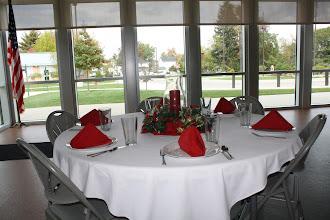 Photo: Holiday Banquet Table