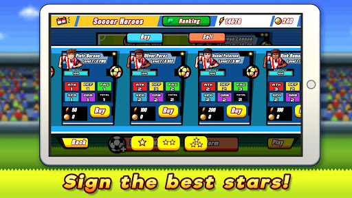 Soccer Heroes 2018 - RPG Football Stars Game Free for PC