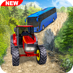 Off Road Duty Tractor Pulls Drive Icon