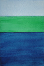 Photo: Sea - 6 x 4 inch watercolor. One only. SOLD