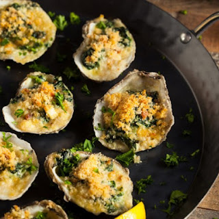 Oysters Rockefeller Without Shells Recipes.