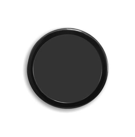 DEMCiflex magnetisk filter 160mm, rund, sort