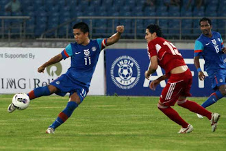 Photo: Nehru Cup: India beat Syria 2-1 in opener http://t.in.com/brLy