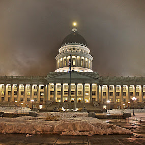 Utah State Capitol by Dallas Golden - Buildings & Architecture Public & Historical ( utah, capitol, salt lake city )