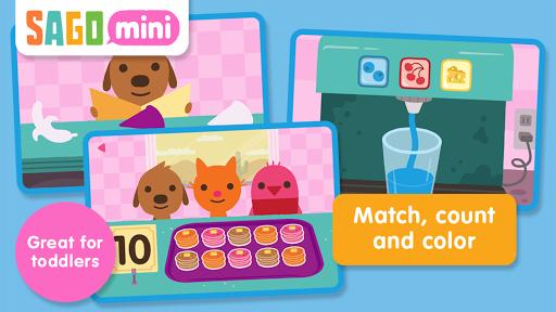 Screenshot for Sago Mini Pet Cafe in Hong Kong Play Store