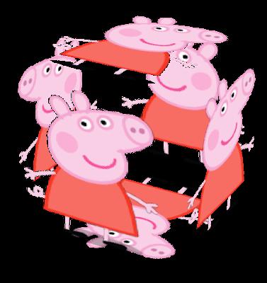 I am Peppa Pig Oink!