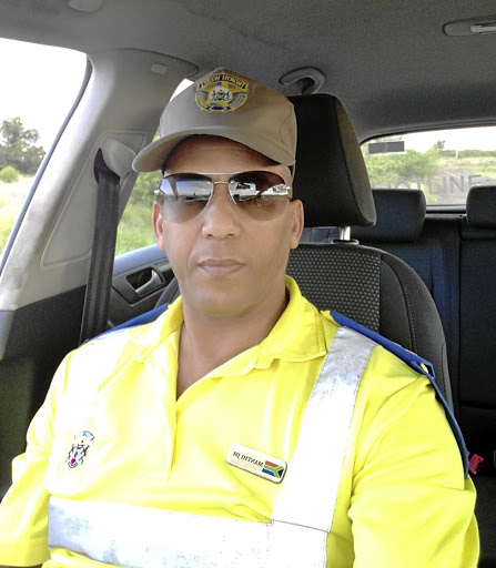 Traffic officer Johannes Manthi. / SUPPLIED