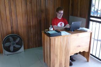 Photo: am neuen Arbeitsplatz im neuen Büro!