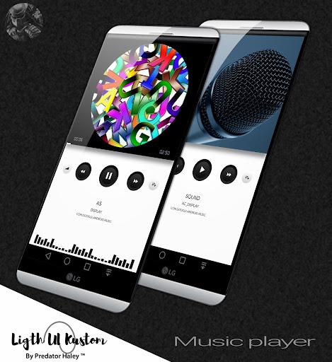 Ligth UI Kustom Pro 1/Klwp screenshot 2