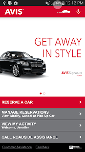 Avis Car Rental- screenshot thumbnail