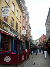 Photo: Narrow streets of Galway