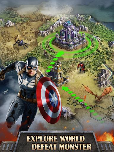 Mutants War: Heroes vs Zombies MMOSLG apktram screenshots 12
