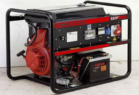 Dieselelverk Genmac Combiplus G6700KEO