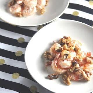 Low Carb Crispy Walnut Shrimp - Gluten-Free, Keto, LCHF.