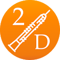 2D Oboe Fingering Chart - How To Play Oboe icon