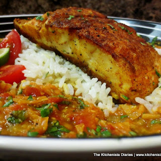 Curry Snapper & Red Lentils