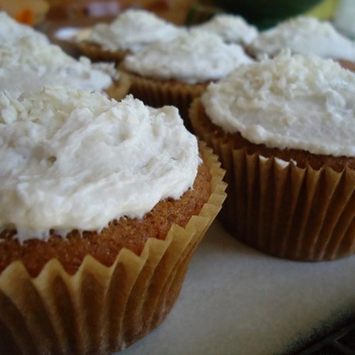Coconut Cupcakes (Dairy Free!) Recipe