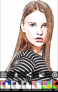 Sketch Camera - photo editing- screenshot thumbnail