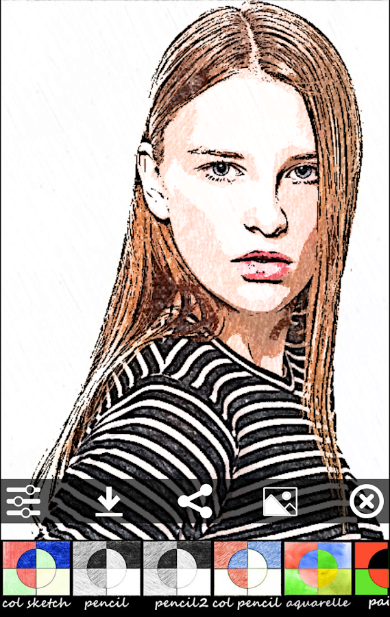 Sketch Camera - photo editing- screenshot