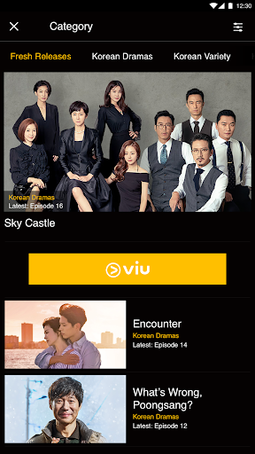 Screenshot for Viu in Hong Kong Play Store