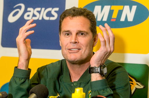 Springbok coach Rassie Erasmus partly took the blame for his team's poor defence yesterday