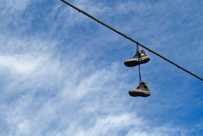 scarpe all'aria! di Yasis