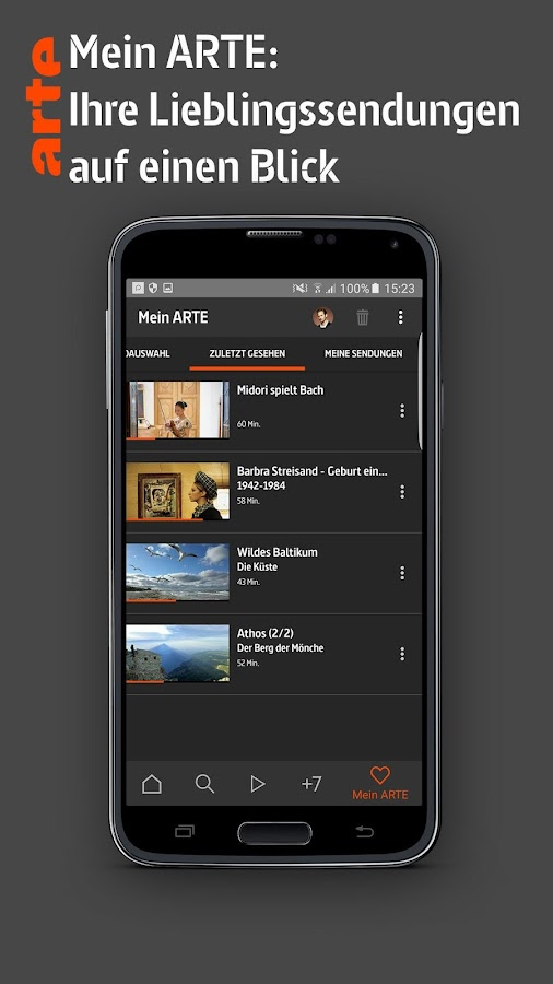 ARTE – Screenshot