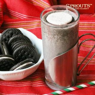 Candy Cane Creme Cookie Milkshake
