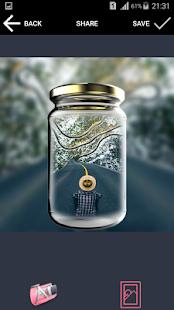 وضع صورتك في إطار زجاجة بدون انترنيت 2018 - náhled