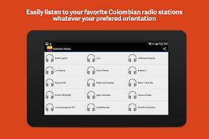 Screenshot of Colombia Radios