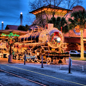 Sunset Station by Roxana McRoberts - Public Holidays Christmas